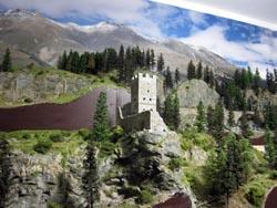 Ende Jahr 2010 wurde der neue Hintergrund angebracht. Im Vordergrund das Motiv Campi.