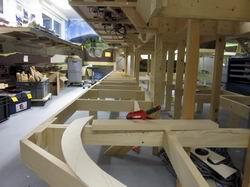 """Sicht auf """"Anlagenzunge"""", sie ist 9 Meter lang und bietet somit Platz für zahlreiche Motive :-)"""