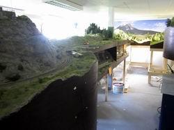 Die Situation vor dem Ruinaulta Umbau. Bergünerstein, Schlossberg und Muot sind inzwischen entfernt worden. Muot wird es in dieser Form nicht mehr geben, stattdessen folgt Stuls in etwas abgewandelter Form.
