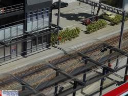 Direkt neben dem Bahnhofbuffet liegen die zahlreichen Park&Ride Plätze die sicher auch von einen oder anderen Albulafanatiker genutzt worden sind