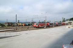 Der im Juli 2011 fertig gestellte Bauabschnitt Thusis West in der Übersicht